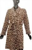 Fluffy coral fleece robe