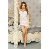 Fantasy Bridal Chemise & G-string Set