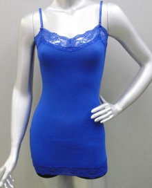 Camisole with lace trims