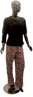 Fluffy pajama set