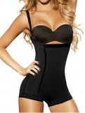Side Zip and Clip Powernet Bodyshaper