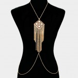 Fringe Metal Body Chain