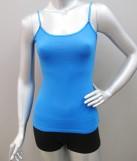 Spandex camisole with inbuilt bra