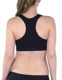Flex Black Push Up Sports Bra