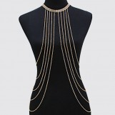 Chevron Fringe Body Chain