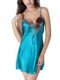 Rose Silk Slip